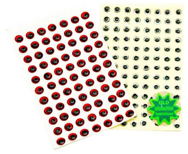 Bild på Behr Angelsport 3D-Fisheyes 8mm (72 pack)