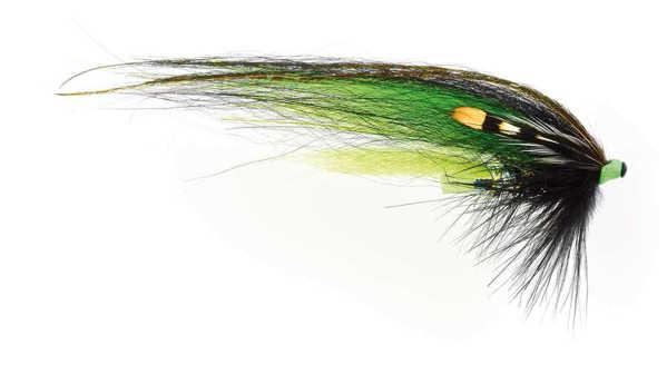 Bild på Frödin Classic Series (Tubflugor) 6cm Black Green Helmet