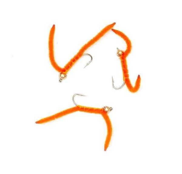 Bild på Squirmy Worm Orange #10