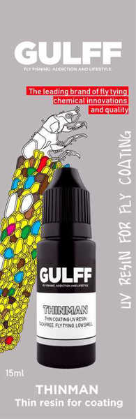 Bild på GULFF Clear Resin Thinman 15ml