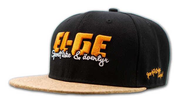 Bild på EL-GE Snapback Black Cork Brim