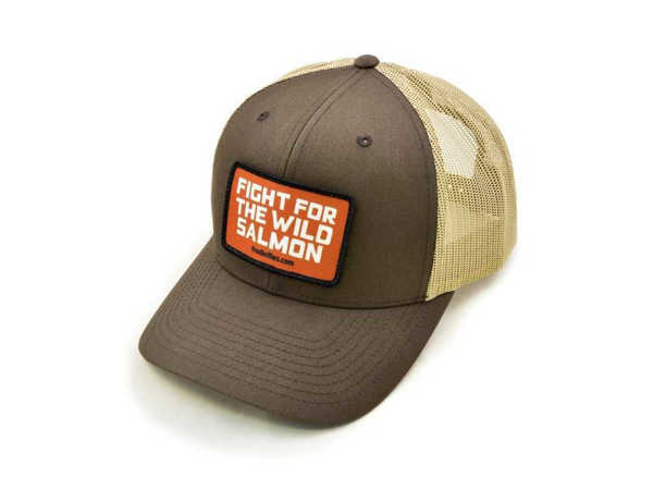 Bild på Frödin Brown/Tan 'Wild Salmon' Trucker Hat