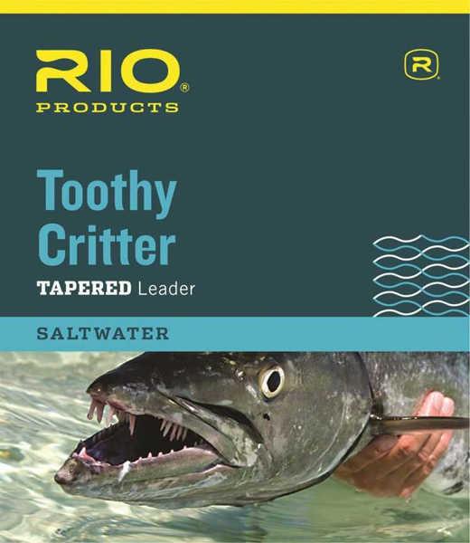 Bild på RIO Toothy Critter Tapered Leader