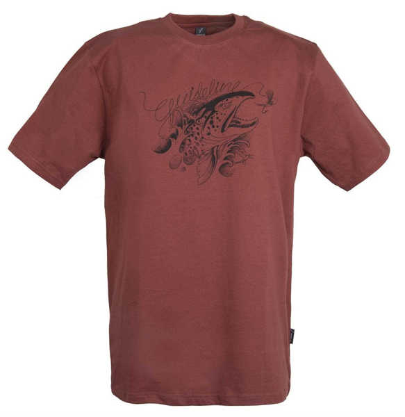 Bild på Guideline Angry Trout ECO Tee Brick