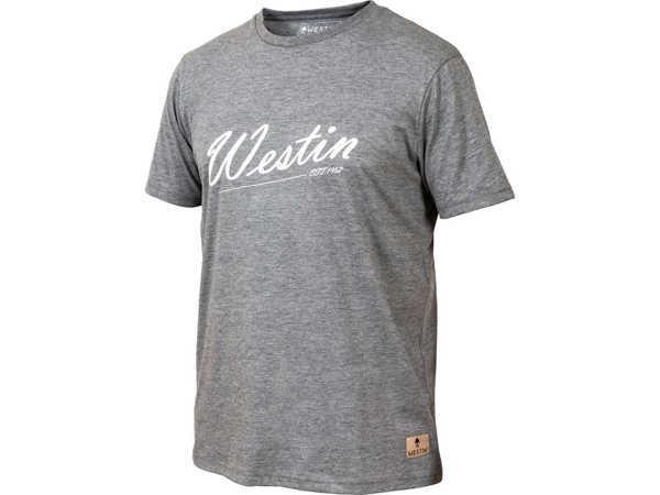 Bild på Westin Old School T-Shirt Grey Melange