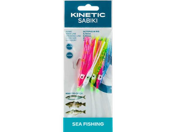 Bild på Kinetic Sabiki Octopus Pink/Blue #3/0