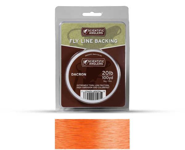 Bild på Scientific Anglers Dacron Backing Orange