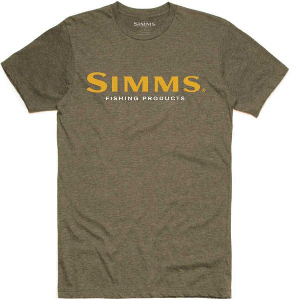 Bild på Simms Logo T-Shirt Olive Heather
