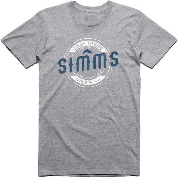 Bild på Simms Wader MT T-Shirt Grey Heather