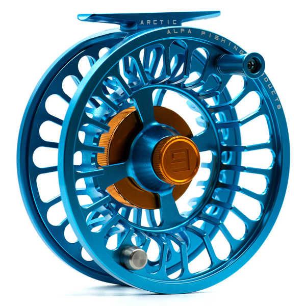 Bild på Alfa Arctic Reel Petrol Blue #9-11