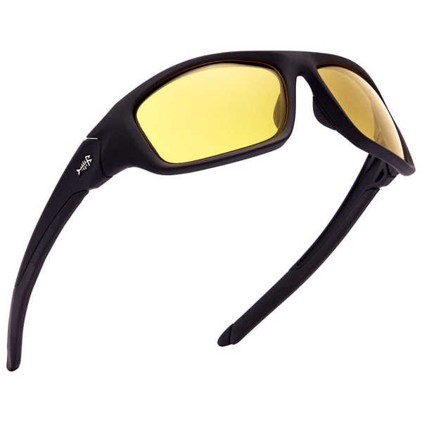 Bild på Bassdash V01 Polarized Sunglasses Matte Black/Yellow
