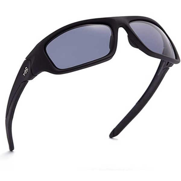 Bild på Bassdash V01 Polarized Sunglasses Matte Black/Grey